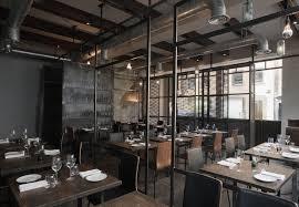 interior modern rustic industrial restaurant design ideas