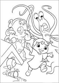 monsters coloring pages google coloring