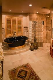 Mediterranean Bathroom Ideas Colors Steal Ideas From This Luxury Bathroom Designs Glossy With