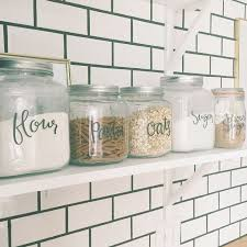 clear canisters kitchen best 25 kitchen canisters ideas on open pantry flour