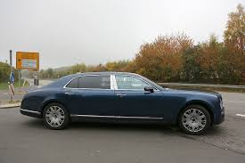 bentley mulsanne ti 2017 bentley mulsanne spyshots reveal long wheelbase model arnage