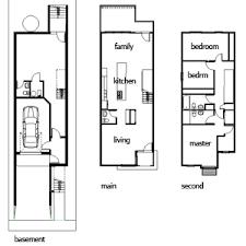 narrow house plan narrow houses search narrow house interiors