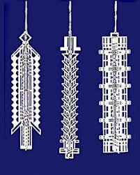 frank lloyd wright luxfer 3d gift ornament wright ornaments