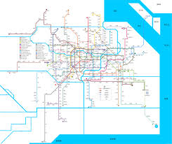 San Francisco Metro Map by What The Shanghai Metro Will Look Like In 2014 And 2020 Shanghaiist