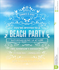 free beach party invitations beach party invitations online