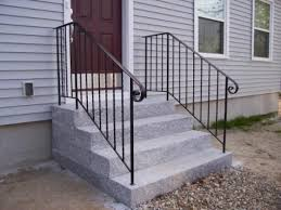 wrought iron outdoor stair railing a more decor