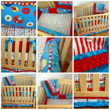 Dr Seuss Furniture For Sale by 4 Piece Dr Seuss Crib Bedding Set Made To Order By Mommasboytique