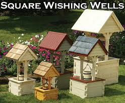 how to build a wishing well planter 11 merry free building plans for