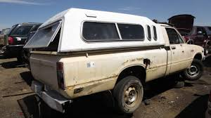 toyota commercial vehicles usa 1983 toyota pickup junkyard find u2013 adobe rust repair edition