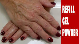 gel nails refill infill tutorial gel nails regal nails