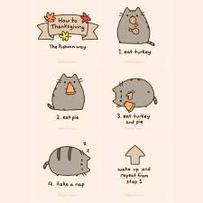 pusheen the cat images how to do thanksgiving wallpaper and