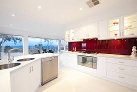 Glass Backsplash In Kitchen Intensify The Look Of Your Kitchen With 20 Glass Back Painted