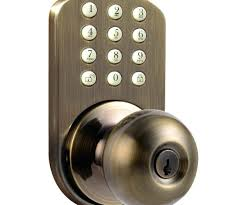 door knob lock push button door knob door knob key lock box home