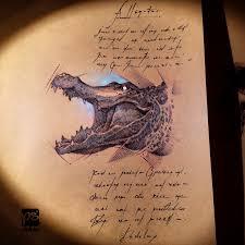 artstation alligator sketch psdelux