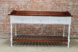 reclaimed console table for family dinner table u2014 decoras