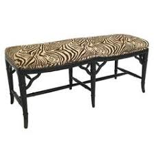 english bamboo upholstered bench seat for sale at 1stdibs
