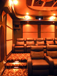 home theater interior creating the perfect home theatre set up curved seating in arafen