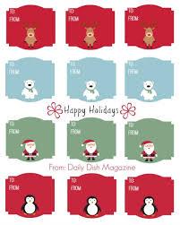 christmas tag template free printable blank gift tags template
