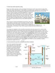 passive down draft evaporative cooling air conditioning nature