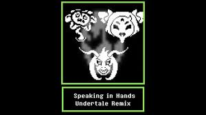 gaster the who speaks in undertale remix speaking in