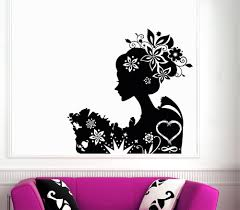hair salon vinyl wall decal barber shop hairdresser hair salon