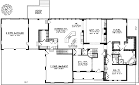 house plans one level spacious one level home plan 89207ah architectural designs