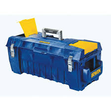 Tool Box Shop Irwin 29 In Blue Resin Lockable Tool Box At Lowes Com