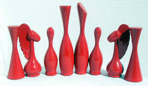 Futuristic Chess Set Modern And Modernist Special Show Welcome To The Chess Museum