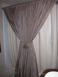 Hanging Curtain Tie Backs Tie Back Curtains Curtain Holdback Ideas Window And Tie Backs Pin