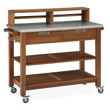 Kitchen Cart With Drawers by Home Styles Bali Hai Bar Cart Potting Bench Hayneedle
