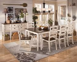 Ashley Furniture Dining Sets Ashley Furniture White Dining Room Sets Brockhurststud Com