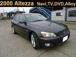 altezza car black 949892 japan used toyota altezza gf gxe10 sedan car 2000 for sale