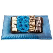 Chanukah Gifts Frosted Blue Picture Frame Chocolate Gift Tray U2022 Hanukkah