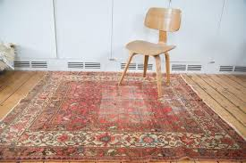 Square Rug 5x5 Antique And Vintage Rugs Distressed Antique Rugs 2