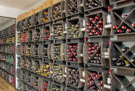 Wine Cellar Liquor Store - retail wine merchandising wine store racking retail wine racks
