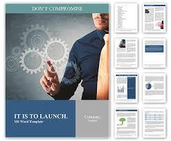 engineering brochure templates gears of engineering work word template design id 0000008760