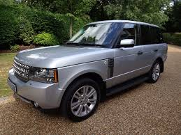 range rover silver used silver land rover range rover for sale surrey
