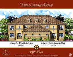 models weston signature homes