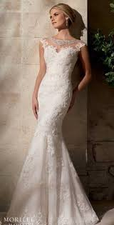 mermaid style wedding dresses mermaid style wedding gown with sheer illusion back and beaded