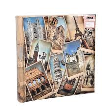 memo photo album arpan 10 x 15 cm vintage collage uk european travel memo photo