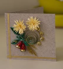 Paper Craft Christmas Cards - 29 best quilled christmas cards images on pinterest quilling