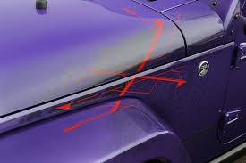 dark purple jeep 2016 jeep wrangler backcountry goes plum crazy for la show