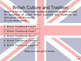 culture and tradition