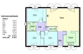 plan maison 80m2 3 chambres plan maison etage 4 chambres gratuit mineral bio