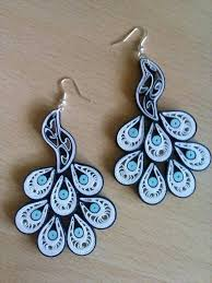 489 best quilling paper bead earrings 4 images on