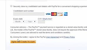 Business Debit Card Agreement How To Create A Paypal Account For Indian Business