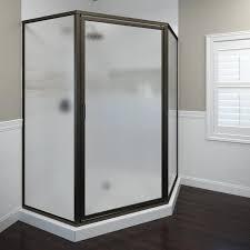 Oil Rubbed Bronze Frameless Shower Door by Shop Basco Framed Oil Rubbed Bronze Shower Door At Lowes Com