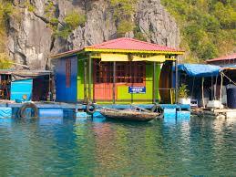 floating houses floating fishing villages rice paddies u0026 papayas