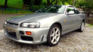 1998 nissan skyline r34 25gt t canada import japan auction