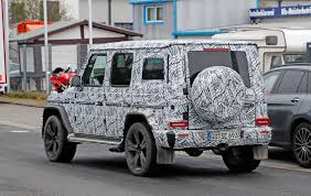 new 2018 mercedes g class spied by car magazine